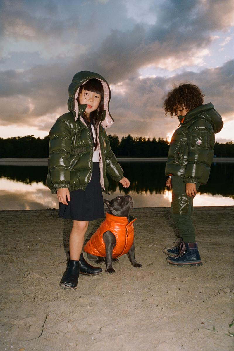 Moncler Generation Mytheresa Exclusive Collection capsule family kids dog puffer jacket vest