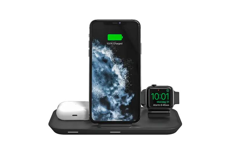 Mophie Releases 3-in-1 Wireless Charging Hub Stand iphone apple watch airpods tech wireless battery nightstand tech gadgets