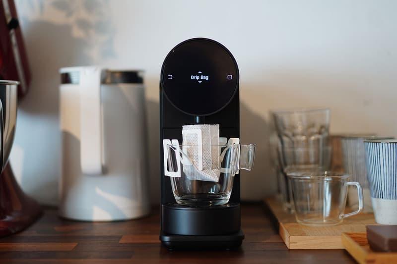 kickstarter the morning machine coffee capsule brewer nespresso custom settings weight scale