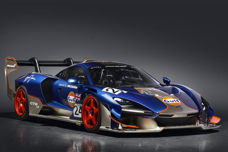 mclaren special operations mso senna gtr lm le mans 1995 victory race racing tribute liveries