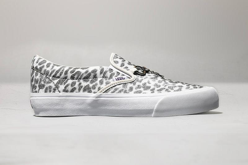 NEEDLES VAULT by VANS  Slip-On  ZEBRA LEOPARD Release footwear surf skate japan retail animal prints classic trainers sneakers