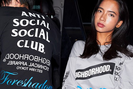 Graphic Excess Defines NEIGHBORHOOD and Anti Social Social Club's Latest Collab