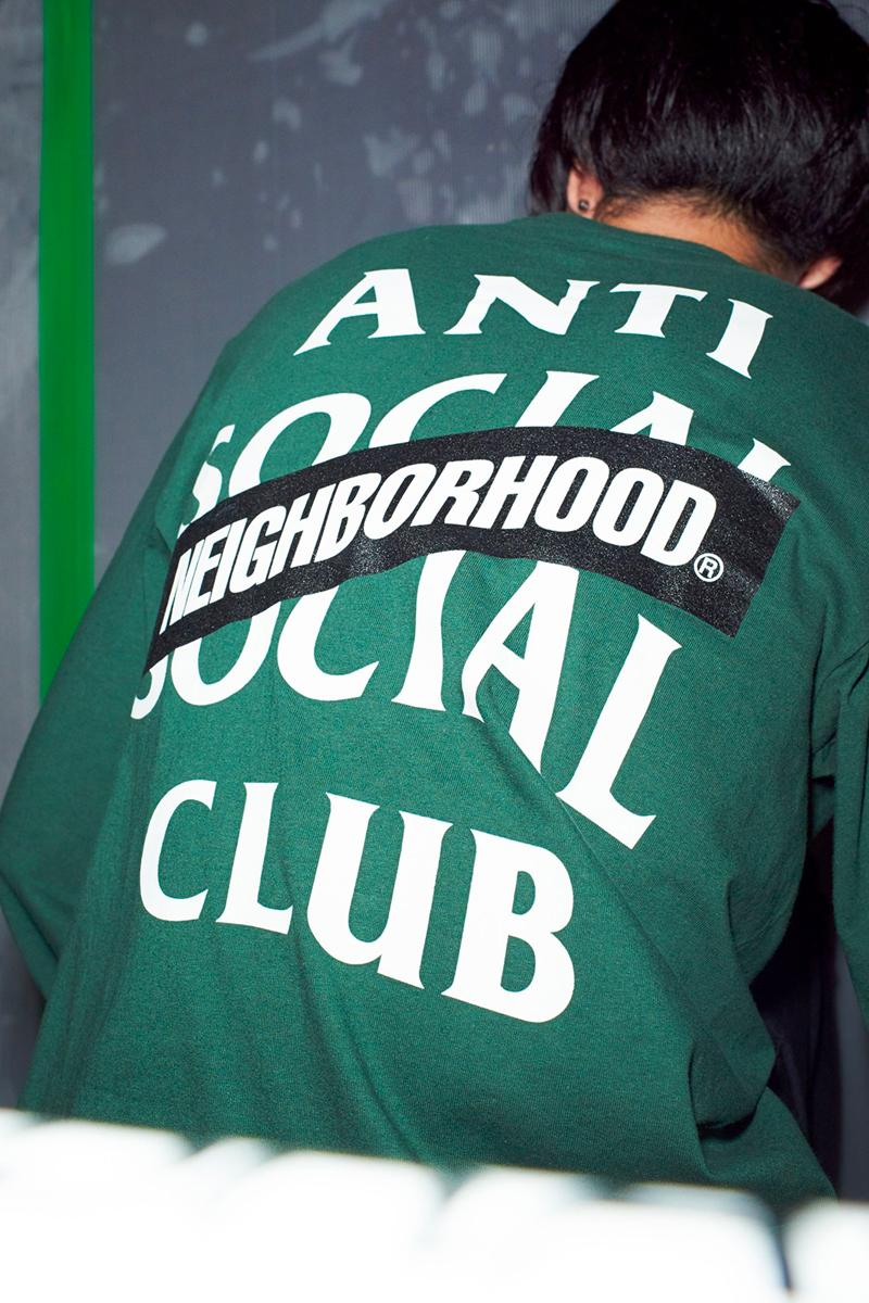 NEIGHBORHOOD Anti Social Social Club 2020 Capsule Release Info Hoodie T shirt