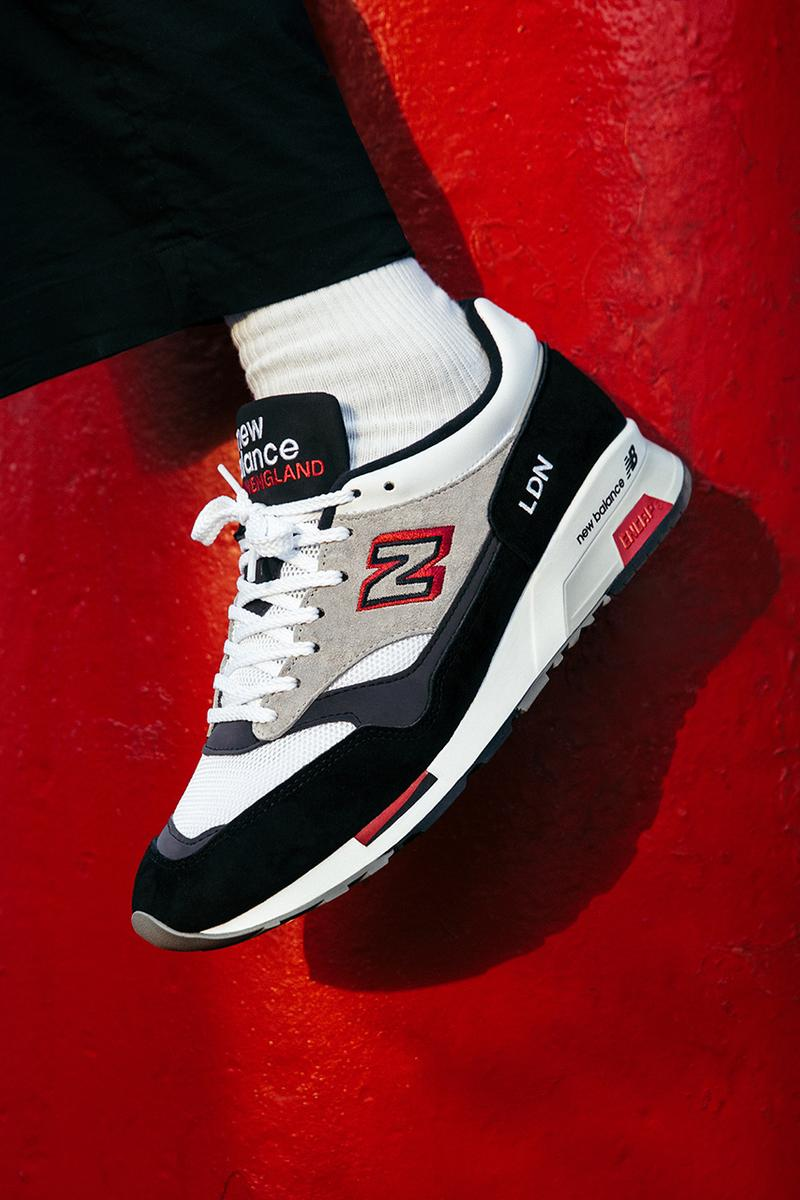 New Balance London marathon inspired sneakers 1500 run the boroughs release information where to cop limited edition