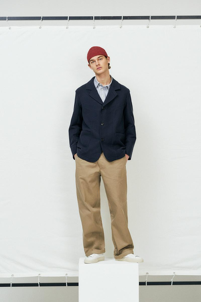 Nigel Cabourn closed fall winter 2020 release information navy inspired where to cop where to buy§
