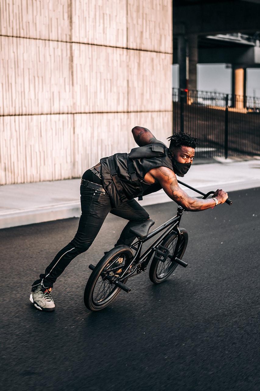 nigel sylvester BMX rider biker make it all light up short film movie boring company flamethrower elon musk mercedes benz slr watch stream