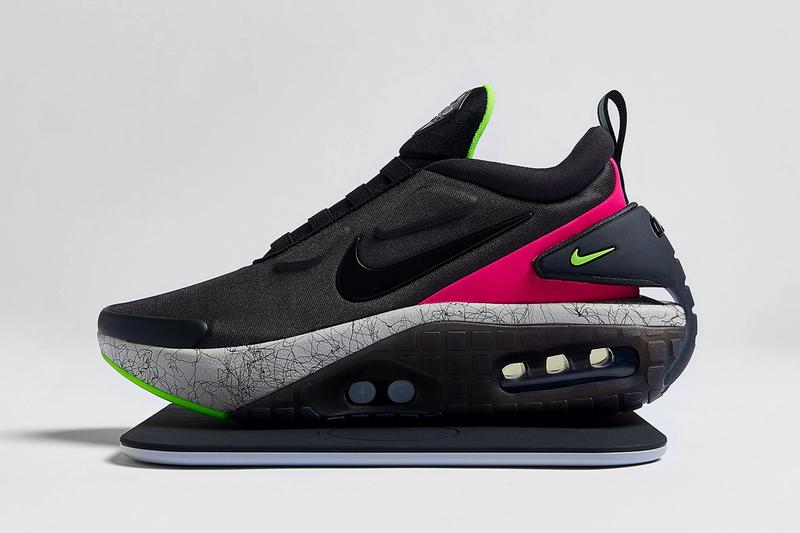 nike adapt auto max power lacing light silver white spruce aura life lime black ct1283 001 official release date info photos price store list buying guide