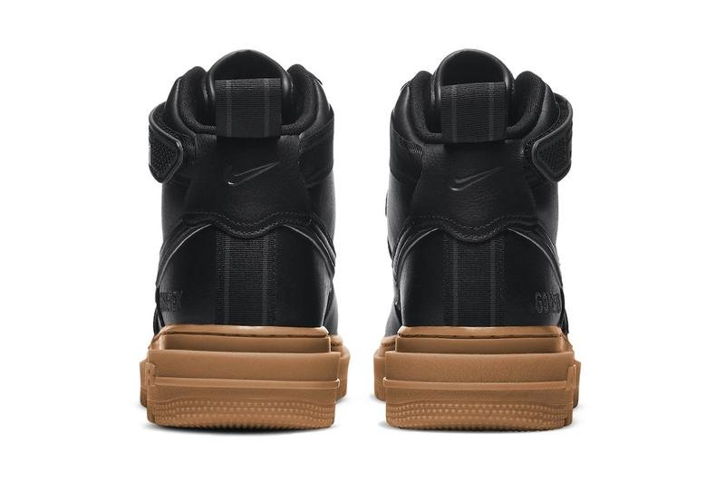 Nike Air Force 1 GORE-TEX Black Gum CT2815 001 menswear streetwear spring summer 2020 collection footwear sneakers shoes kicks trainers runners