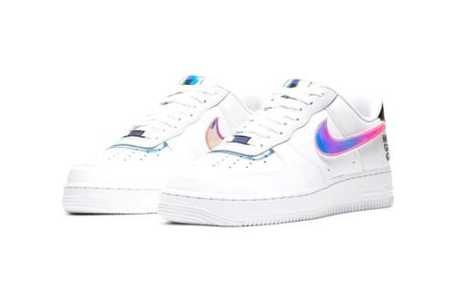 "Nike Drops Iridescent and Holographic Air Force 1 ""Good Game"" Pack"