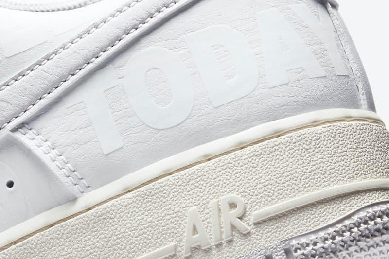 "Nike Air Force 1 Low Hi ""Toll Free"" CJ1631-100 CU1414-001 ""White/Vast Grey-Sail-Black"" ""Black/Black-Sail-Vast Grey"" '07 Premium Sneaker Release Information Closer Look Drop Date ""1-800"""