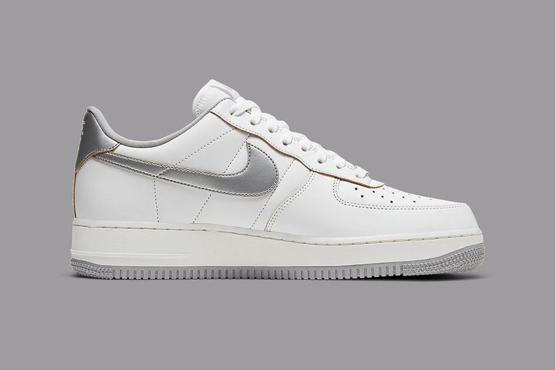 "Nike Air Force 1 Low ""Label Maker"" dc5209-100 AF1 1982 High Old School Inspiration Footwear Sneaker Release Information Drop Date White Blue Stamp Vintage Retro Branding Luxury Premium Leather"