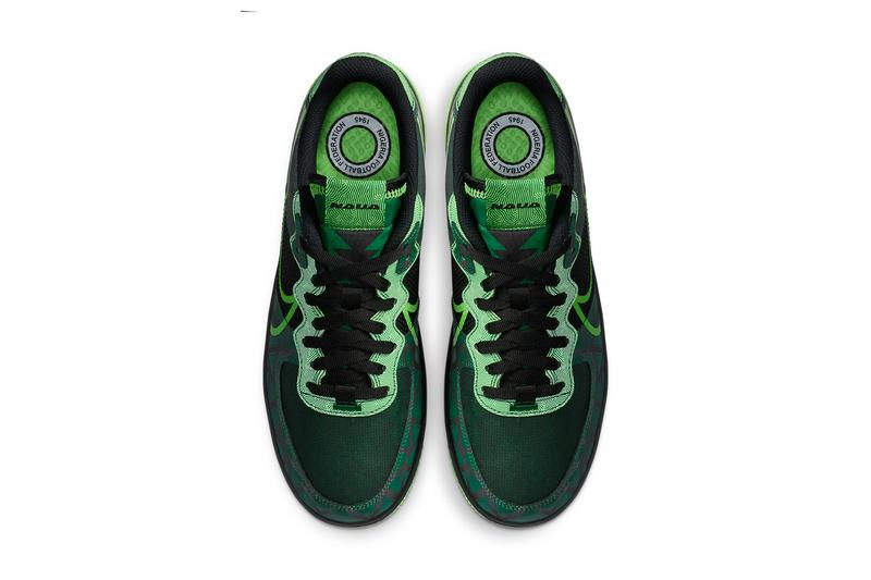 nike sportswear air force 1 react naija nigerian national football soccer team super eagles black pine green strike CW3918 001 official release date info photos price store list buying guide