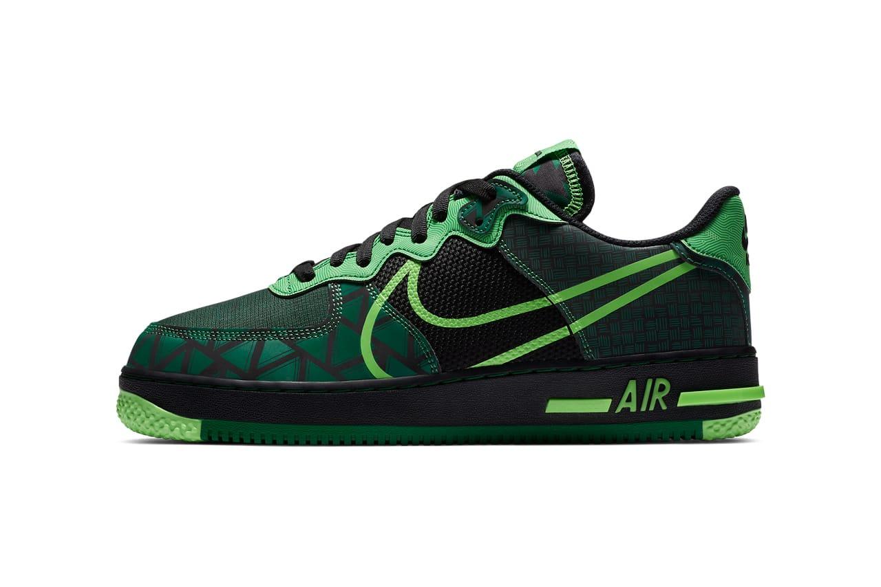 nike air force velvet green