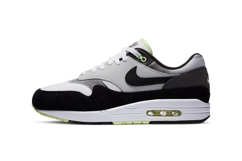 nike sportswear air max 1 white pure platinum iron grey black 95 neon DB1998 100 official release date info photos price store list buying guide