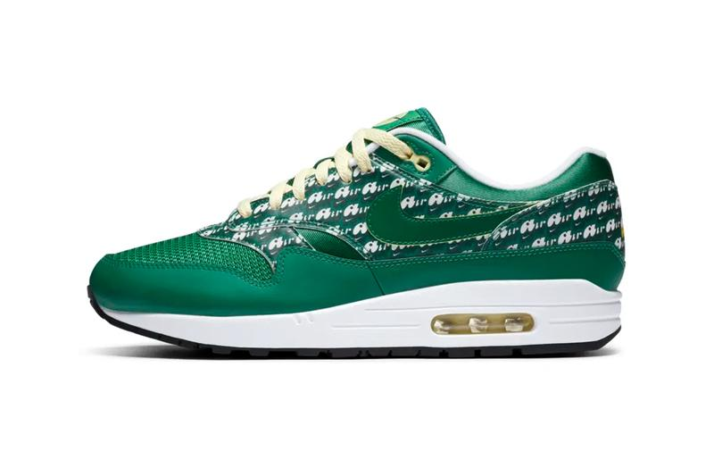 Nike Air Max 1 Powerwall Limeade Official Look Release Info CJ0609-300 Date Buy Price Green Yellow