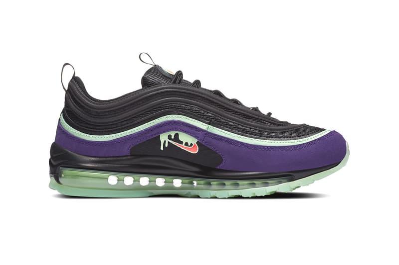 Nike Air Max 97 Slime Glow In The Dark DC1500-001 HYPEBEAST Kicks Footwear Halloween Limited Edition Release Date Sneaker