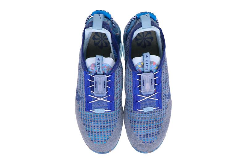 Nike Air VaporMax 2020 FlyKnit Stone Blue menswear streetwear spring summer 2020 collection ss20 ct1823 400