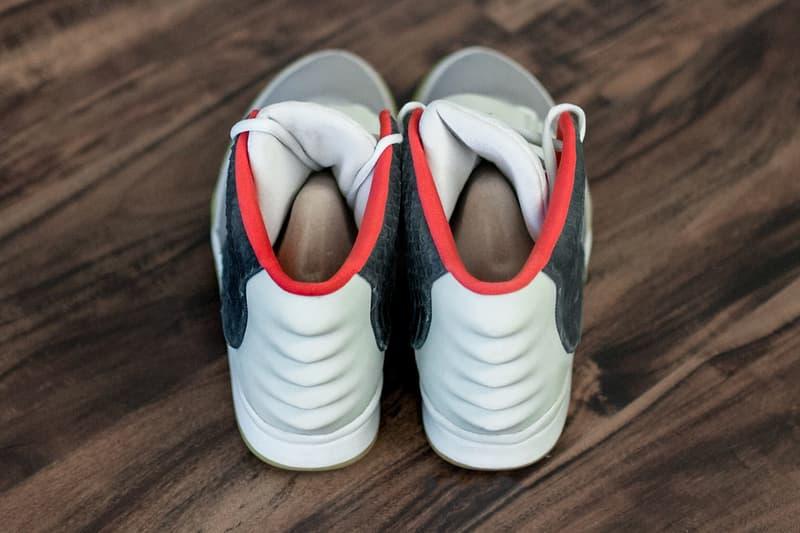 Nike Air Yeezy 2 Mismatch Sample Best Look Yet Solar Platinum Kanye West
