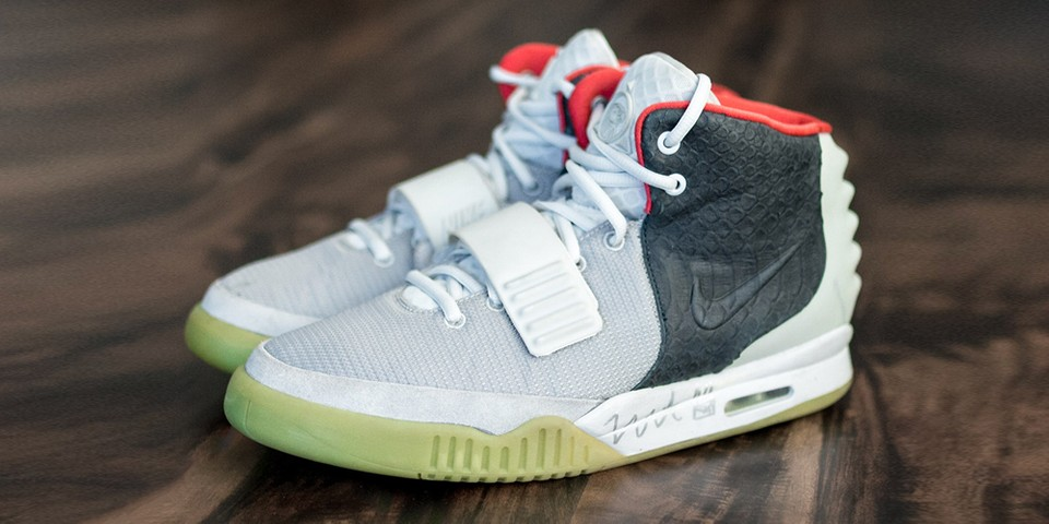 "Take Your Best Look Yet at the Nike Air Yeezy 2 ""Mismatch"" Sample"