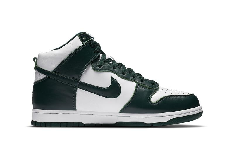 nike sportswear dunk high white pro green CZ8149 100 official release raffle date info photos price store list buying guide