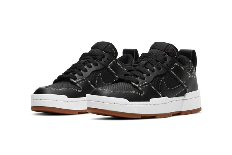 nike dunk low disrupt black gum white CK6654 002 official release date info photos price store list buying guide