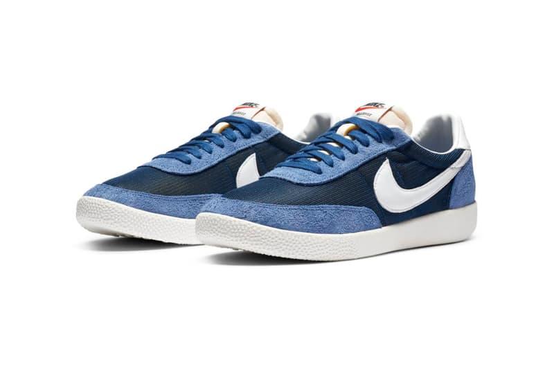 "Nike Killshot OG SP ""Black/White/Off-Noir"" DC1982-001 ""Coastal Blue/White/Stone Blue"" DC1982-400 Release Information Classic Footwear Sneaker Design Original Shoe Swoosh Mesh Suede Foam"