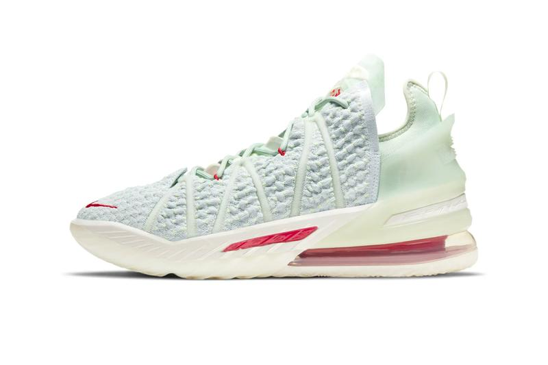 Nike China Lebron 18 EP Empire Jade menswear streetwear silhouette shoes runners trainers basketball old beijing sneakers footwear swoosh