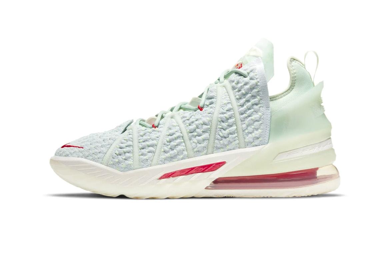 Nike China Lebron 18 Ep Empire Jade Hypebeast