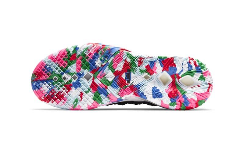 Nike LeBron 18 Multi-Color basketball shoe CQ9283 002 Release LeBron James Basketball sneakers shoes Los Angeles CQ9283-002
