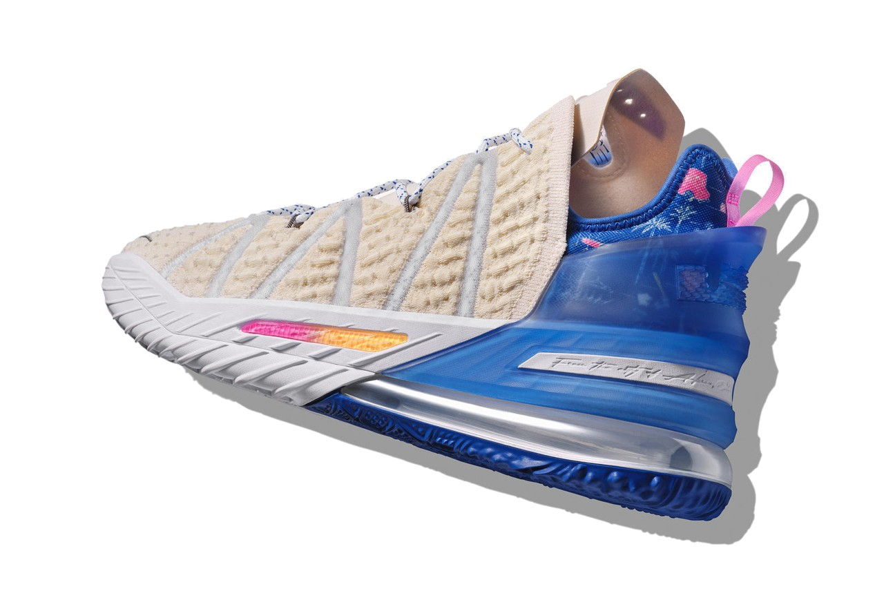 LeBron James 最新戰靴 Nike LeBron 18 正式登場