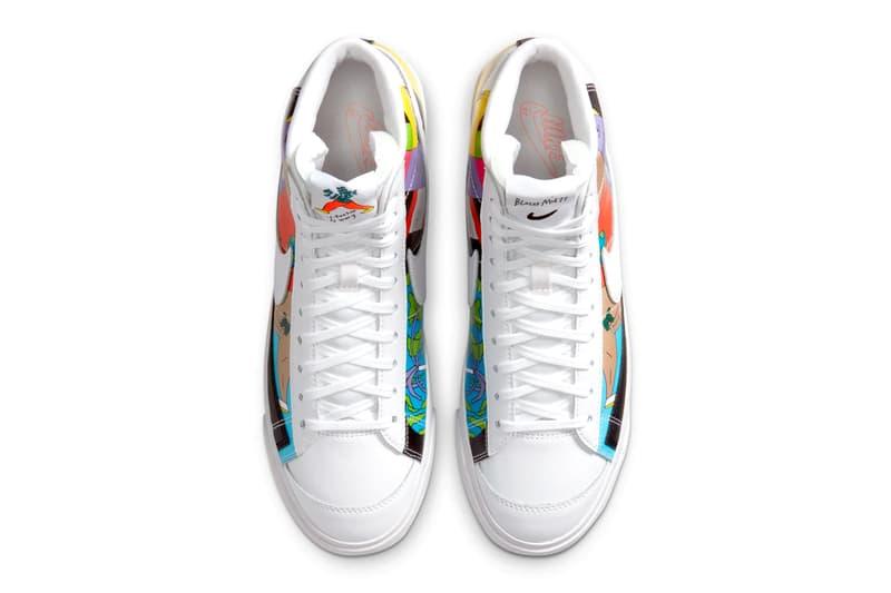 Nike Ruohan Wang Blazer mid 77 air max 90 air force 1 collection info CZ3775 900 SKU CZ3992-900 SKU CZ3990-900
