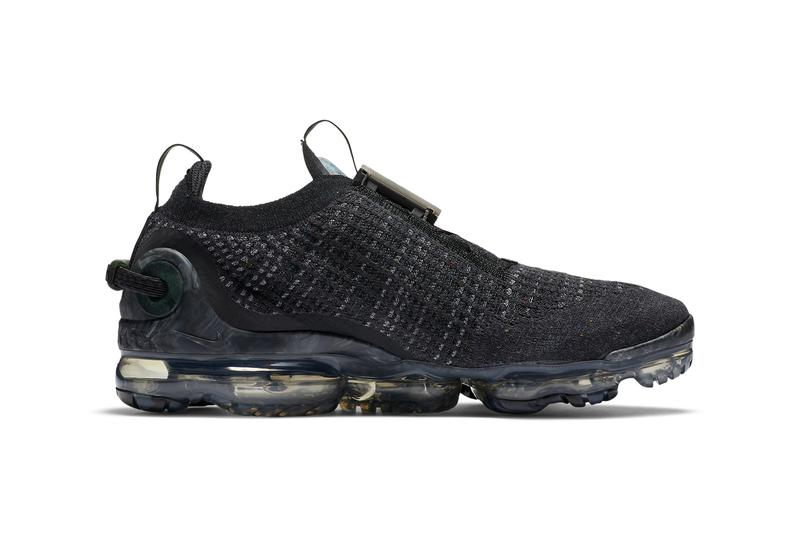 nike sportswear vapormax 2020 flyknit flyease black dark grey CJ6740 002 official release date info photos price store list buying guide