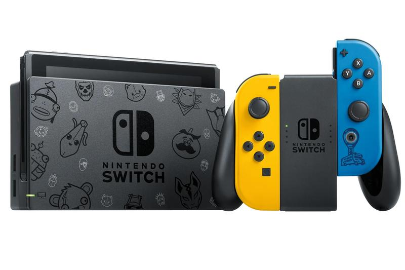 Nintendo Switch Fortnite Epic Games Special Edition Theme Joy-Cons