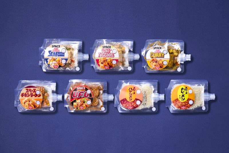 Nissin Space Cup Noodles for Astronauts Development info International Space Station