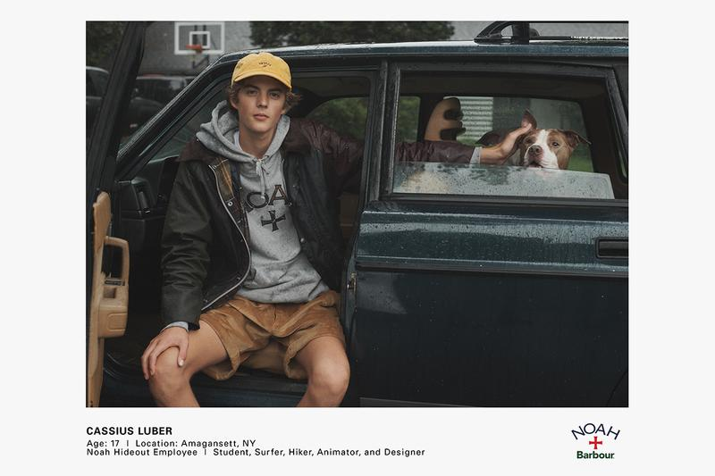 Noah barbour fall winter 2020 coat t-shirt tee hoodie hat cap bag release information first look details