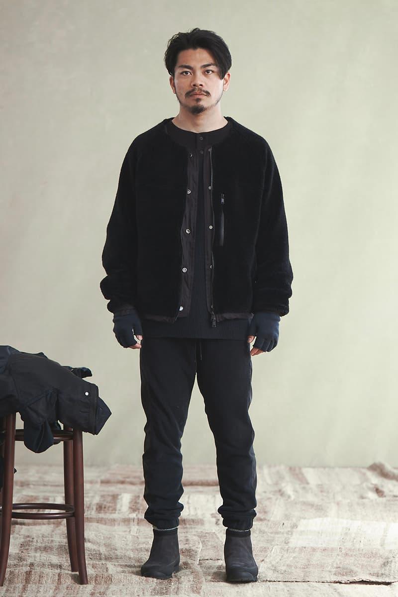 nonnative 38th COLLECTION WINTER SPRING Lookbook menswear streetwear 2020 jackets coats shirts pants trousers jeans denim
