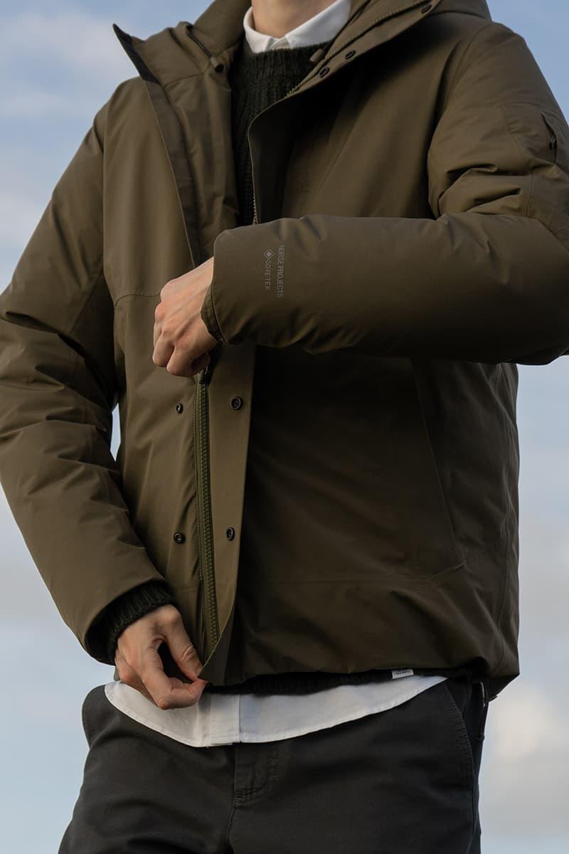 norse projects store gore tex fall winter 2020 fw20 release information parka jacket cap bucket hat copenhagen eye_C