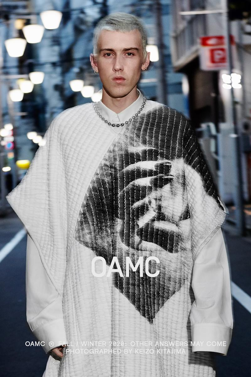 OAMC Fall Winter 2020 Campaign menswear streetwear fw20 lookbooks editorials jackets shirts pants trousers tokyo