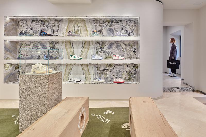 Off-White™ Milano Via Verri Store Opening Look Inside Mens Womens Homeware Virgil Abloh Accessories Shop Retail Experience Luxury Designer