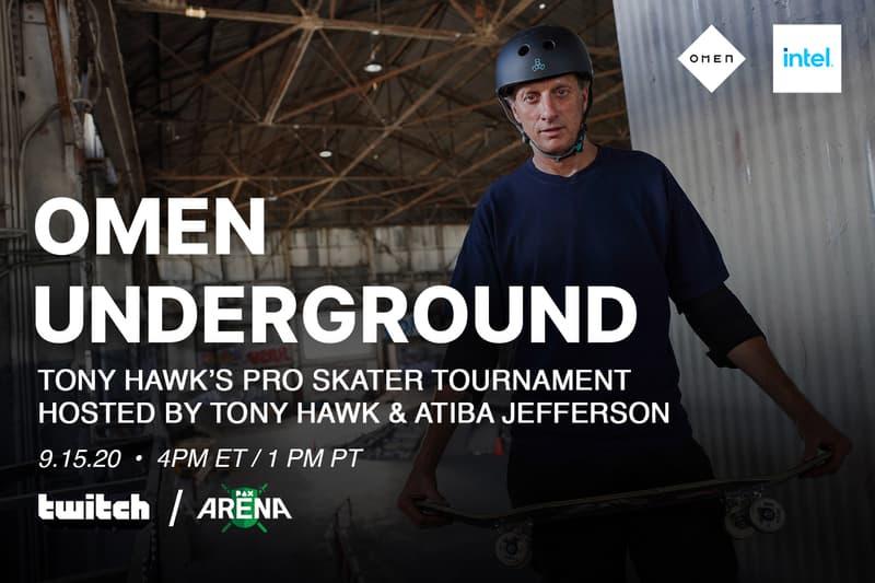 twitch pax arena live streamed tony hawk pro skater 1 and 2 thps atiba jefferson remi wolf live performances