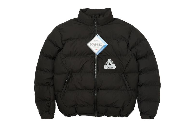 Palace Winter 2020 GORE TEX apparel collection drop info Ski-Doo snowmobile outdoors winter jacket outerwear