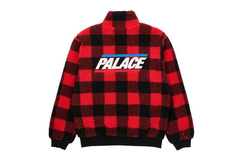 Palace Winter 2020 Jackets outerwear collection drop info gore-tex outerwear coats jackets wool sherpa fleece winter gold waterproof