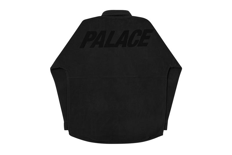 Palace Winter 2020 Tops, Knitwear and Shirts longsleeves collection drop info