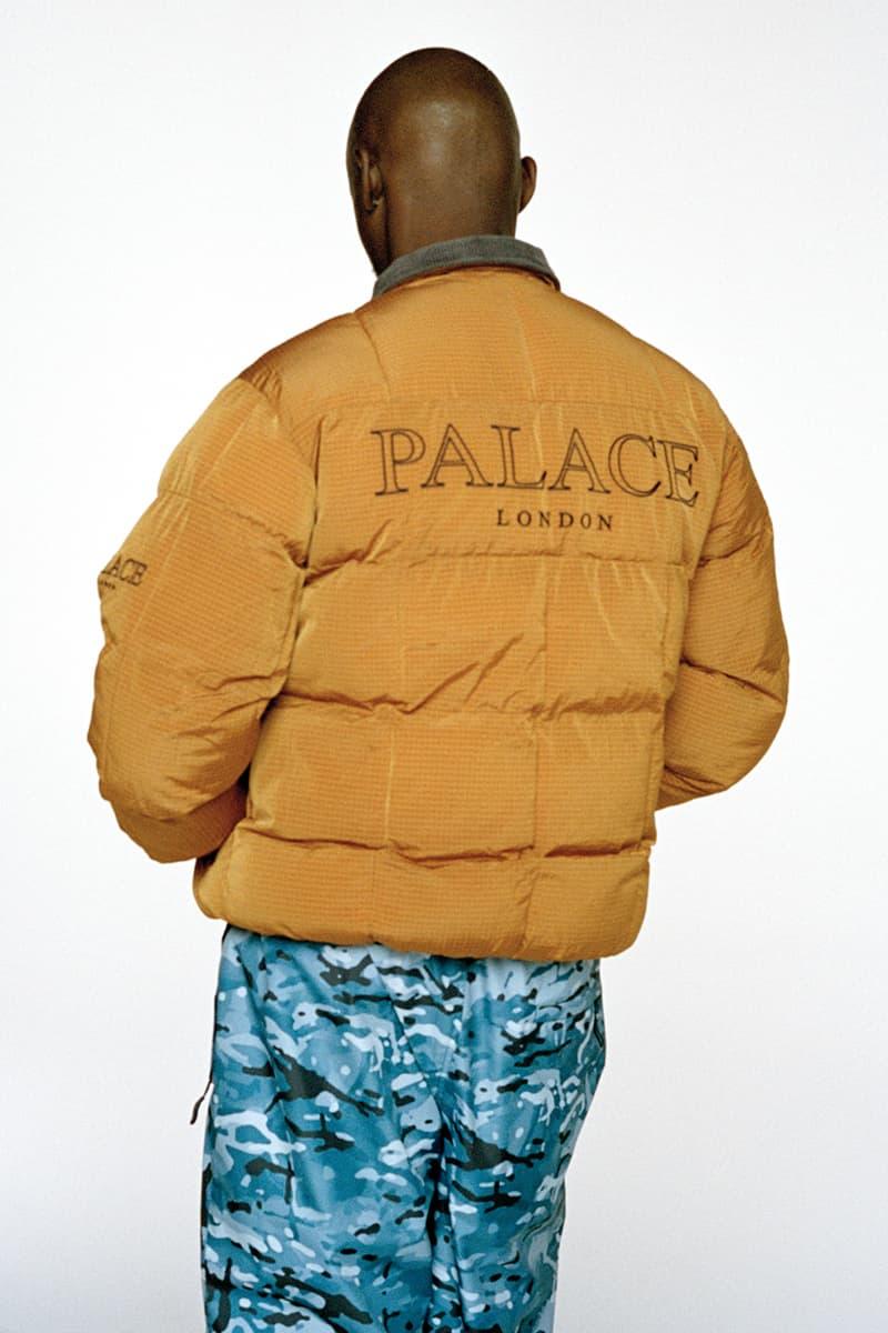 Palace Skateboards Winter 2020 Collection Lookbook Release Info Outerwear Jackets Shirts Hoodies Pants Jeans Date First Drop 2 Week Droplist