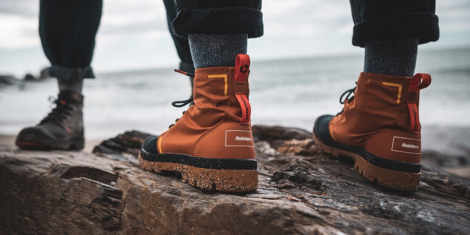 Palladium and Finisterre Drop Recycled Hiking Boots
