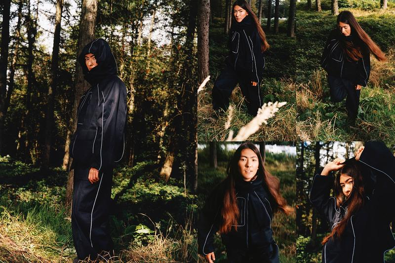 paria farzaneh fall winter 2020 editorial thermore gore tex traditional iranian prints buy cop purchase release information
