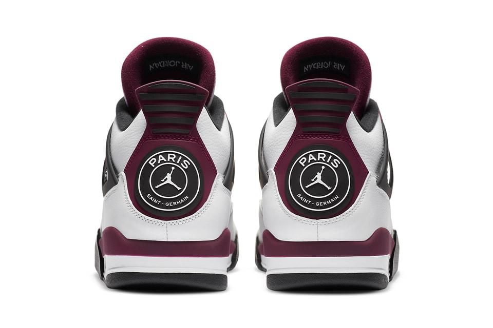 Paris Saint Germain X Air Jordan 4 Release Info Hypebeast