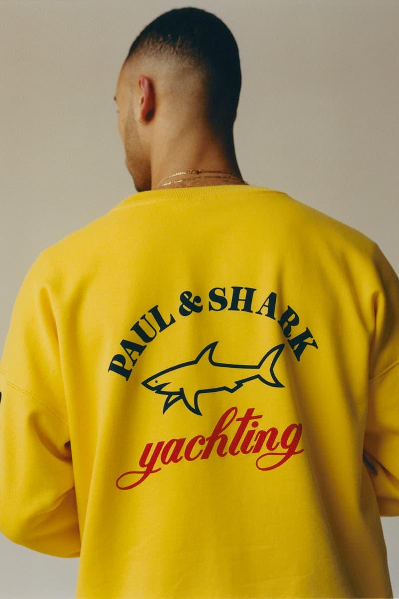 Paul&Shark Typhoon 20000 Jacket Capsule Release Antonia Sweater Hoodie Santino Le Saint