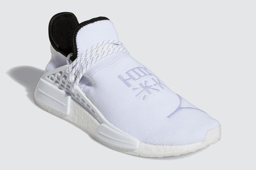 Pharrell x adidas NMD Hu Appears in Etherial White Colorway