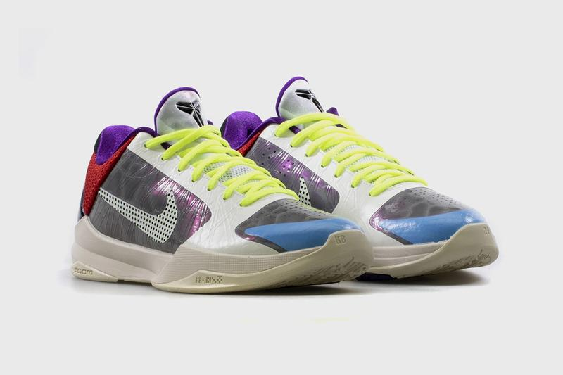 pj tucker nike basketball kobe 5 protro pe grey white multicolor purple red blue yellow CD4991 004 official release date info photos price store list buying guide